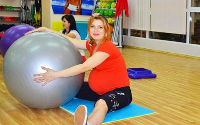 Фитнес для беременных гатчина 45