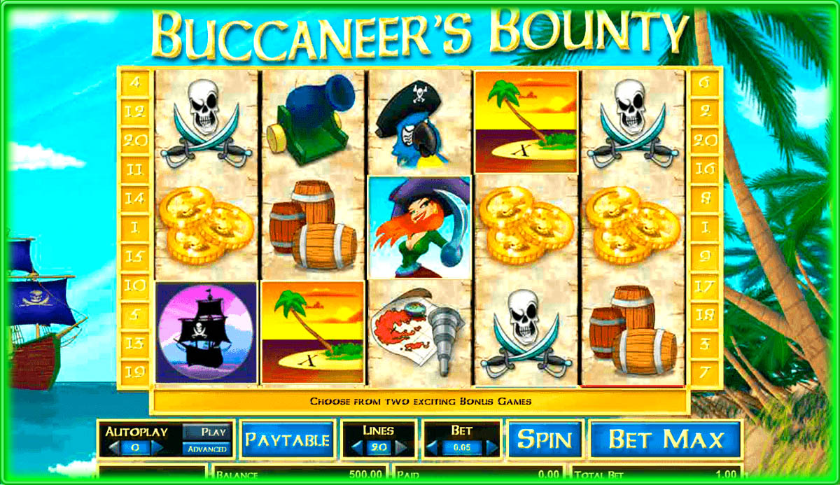 Buccaneers Treasure Slot