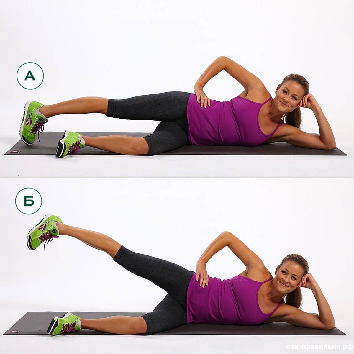 Упражнения для передней поверхности бедра (четырехглавой) 82